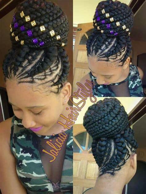 pinned up braid styles nubian goddess braids twists pinterest goddesses