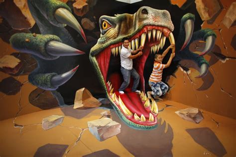 3d paintings 3d art exhibition in china delights visitors photos