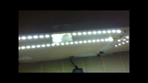 How To Install Led Strip Lights Under Kitchen Cabinets Installing Led Lights Kitchen Cabinets