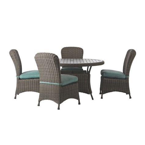 martha stewart patio furniture sets martha stewart living lake adela weathered gray 5