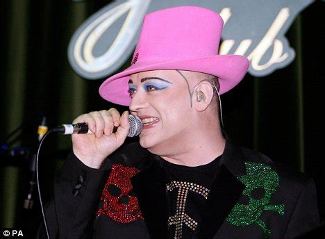 Boy George Showcase At The Pigalle Club In by Review Do You Really Want To Me Defiant Boy George