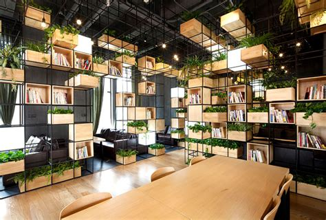 Cubic Interior Design by Design Environment And Greenery Interiorzine
