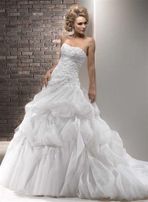 strapless wedding dresses sang maestro