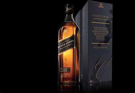 Black Label whisky flavour jonnhie walker black label story