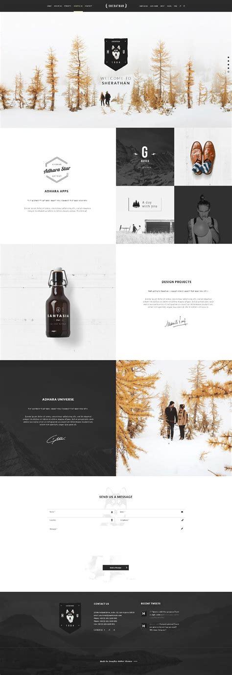 simple layout inspiration hydrus web design inspiration by naughtyrobot part 2 web