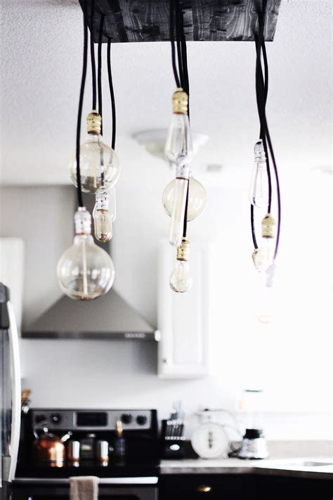 Diy Industrial Chandelier with Diy Industrial Chandelier Like The Yogurt