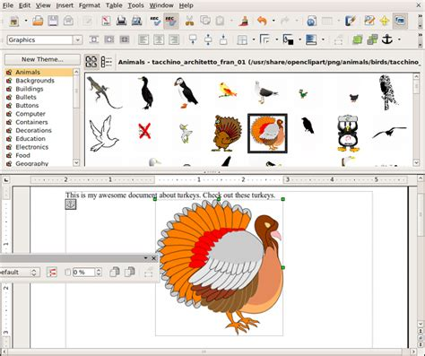clipart openoffice archive ubuntu 9 04 fix openclipart gallery for openoffice