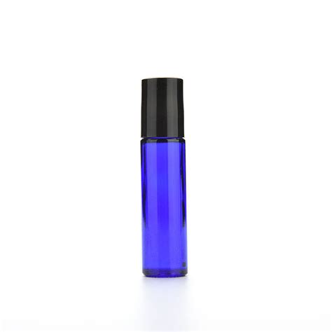 Big Promo 10 Ml Neroli Essential 1pc 10ml blue glass bottle roll on empty fragrance perfume essential bottle 10 ml roll on