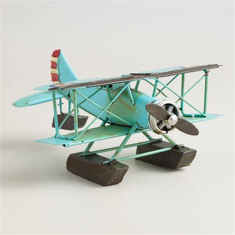 Airplane Decorations by Metal Vintage Airplane Decor World Market