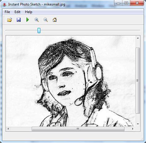 sketch program change photo into software intocartoon