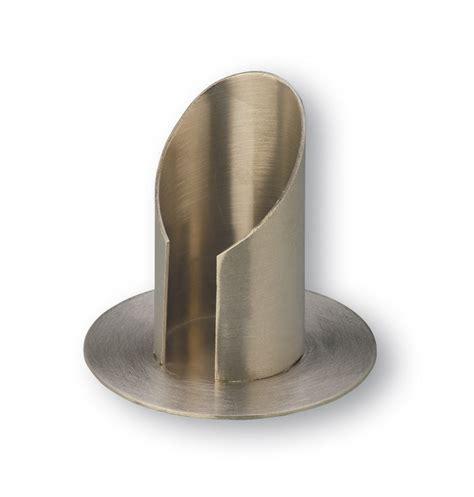 kerzenhalter 4 cm durchmesser kerzenst 228 nder messing matt geb 252 rstet und vernickelt 4 cm
