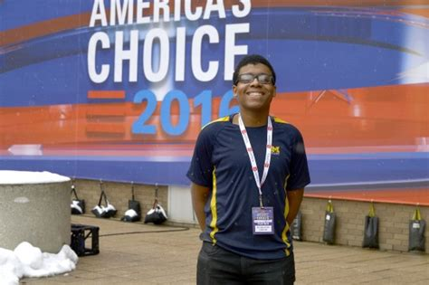 Um Flint Student Takes On by Democratic Presidential Debate Brings Unique Opportunities