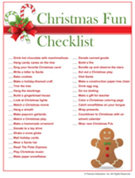 free printable christmas games for ladies printable christmas activities checklist familyeducation