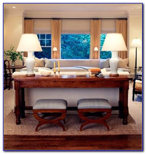 sofa table behind couch against wall console table behind sofa against wall sofas home
