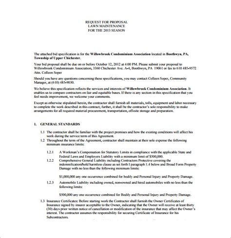 lawn service contract template it resume cover letter sample