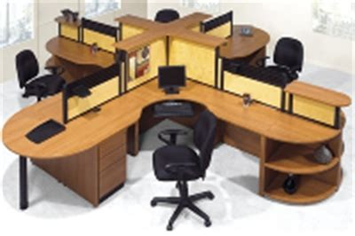 four person office desk the office leader laminate 4 person desk cubicle