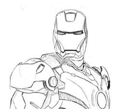 iron man pencil stage by psychoticorangejuice on deviantart