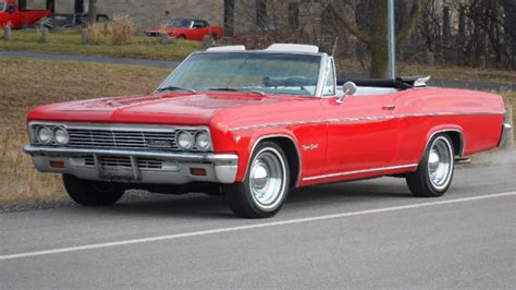 chevrolet impala ss super sport convertible stock