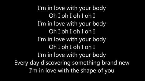 ed sheeran shape of you lyrics ed sheeran shape of you lyrics video youtube
