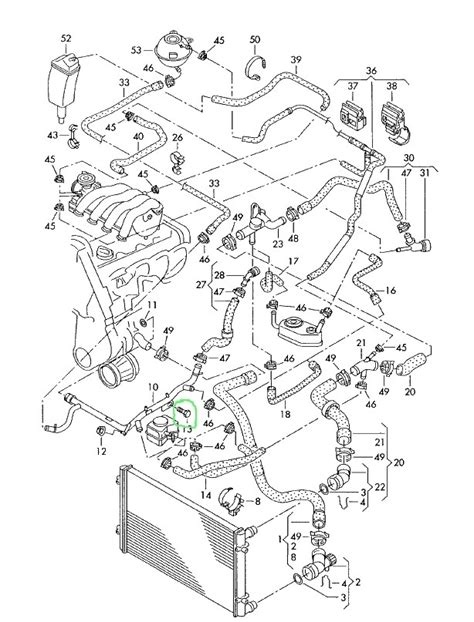 1999 vw beetle cooling system diagram image collections