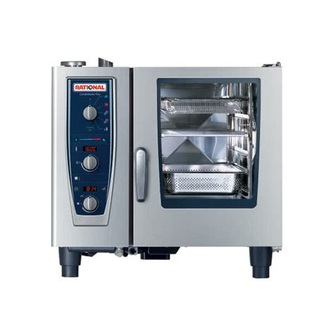 Oven Combi Rational rational combimaster plus model 61 b619106 12 202 single electric combi oven with climaplus