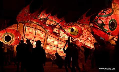 new year fish lantern lantern festival celebrated across china culture