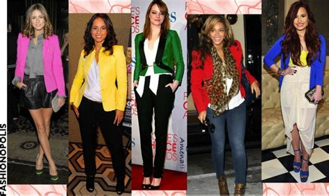 colored blazers fashion look trendy in coloured blazers information nigeria