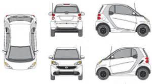 smart car wrap template mr clipart