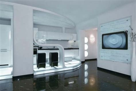 futuristic home interior cozy futuristic apartment interior in kiev ukraine