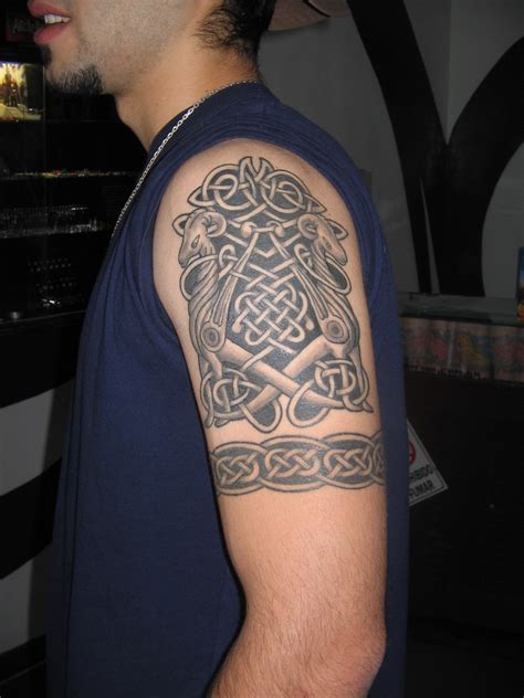 styles of tribal tattoos tribal arm new style for college boys yusrablog