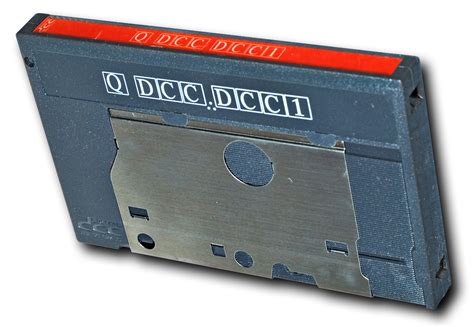 digital cassette recorder digital compact cassette