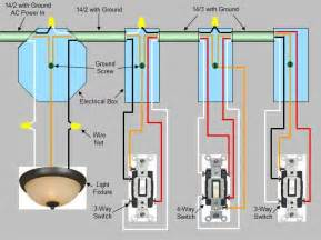 four way switch wiring diagram schematic is simple to visualise the principal of how this