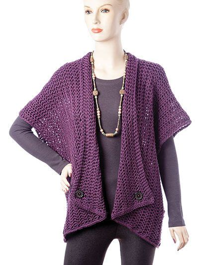 Cardigan Atasan Wanita Typograph Vest https www anniescatalog detail html prod id 125530 cat id 913 crochet cardigan vest