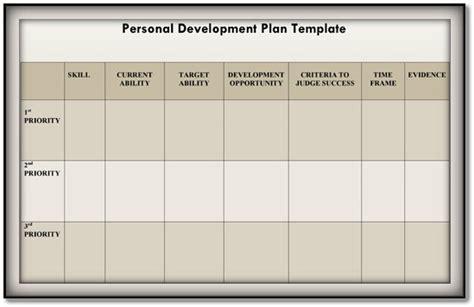 Personal Development Plan Template 9 Free Sles In Pdf Word Download Personal Development Plan Template