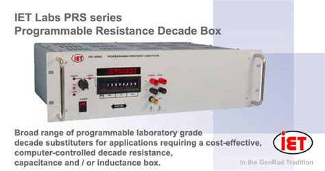 decade resistance box tinsley esi rs925d resistance decade resistance decades ac dc measuring instruments amtest test