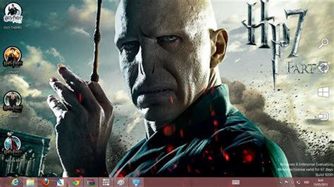 theme exles in harry potter harry potter theme for windows 7 and 8 ouo themes