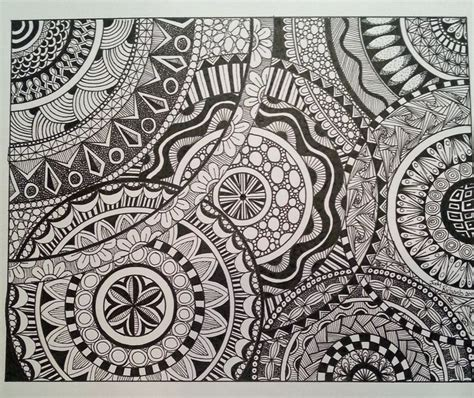 doodle circle of 17 best images about zentangle on doodle