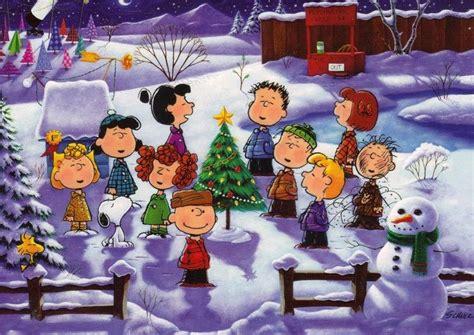 peanuts gang christmas
