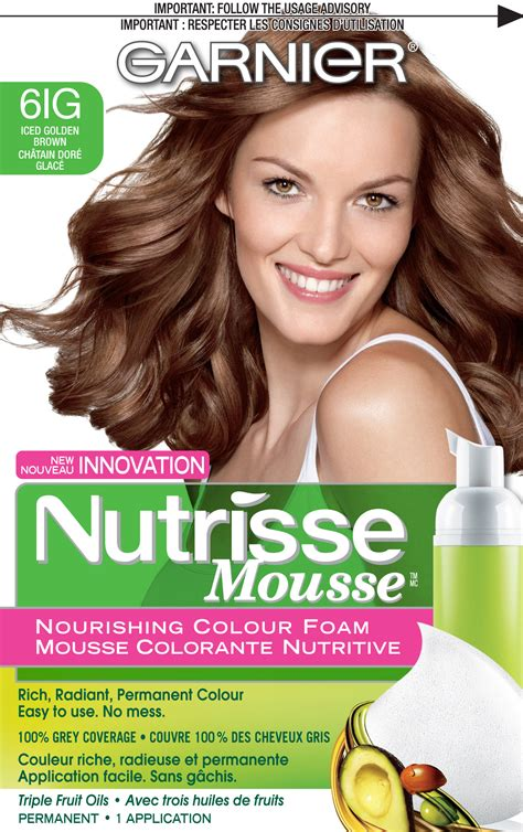 garnier foam hair color garnier nutrisse mousse nourishing color foam reviews in