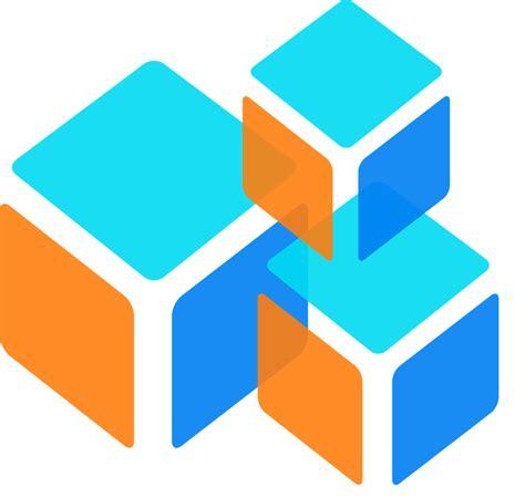 Square 3d free vector graphic squares boxes cubes 3d square