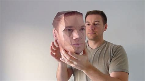 How To Make 3d Models Out Of Paper - paper kit helps you turn portrait photos into 3d paper heads