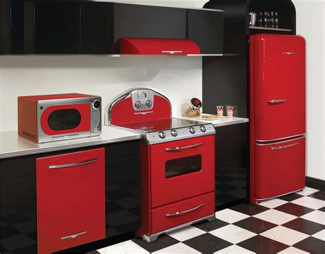 red kitchen appliances kitchen and residential design elmira s northstar series