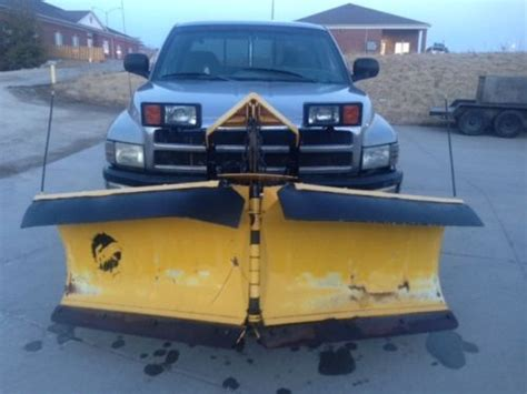 snow plow for dodge ram 2500 buy used 1999 dodge ram 2500 turbo diesel cab with