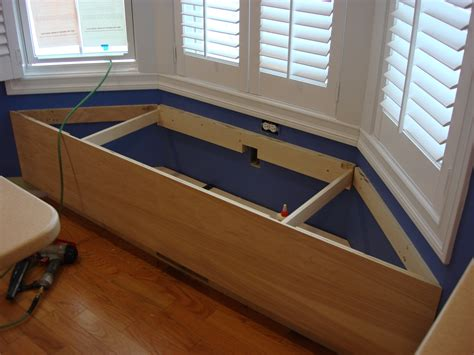 bench the bay window bench seat with storage plans