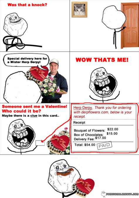 what to do on valentines day alone forever alone x megusta memes