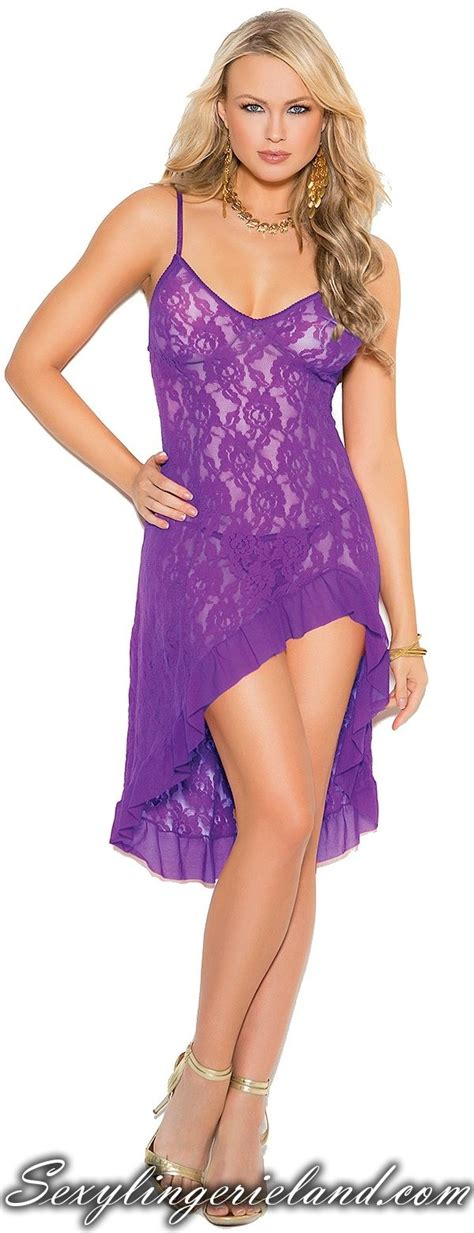 Evening Black Purple Satin Nightdress Gstring 55 best images about robes gowns on
