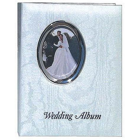 Wedding Albums For 4x6 Photos by Pioneer 4 X 6 In Oval Framed Wedding Memo Album 200
