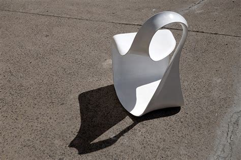 Mobius Chair by Takeshi Miyakawa Ribbon Like Mobius Chair