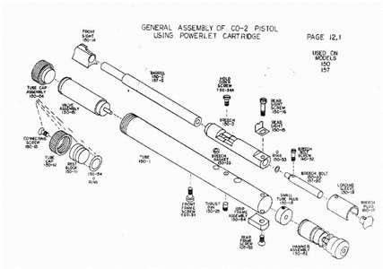 crosman 1077 diagram breakdown radio wiring diagram