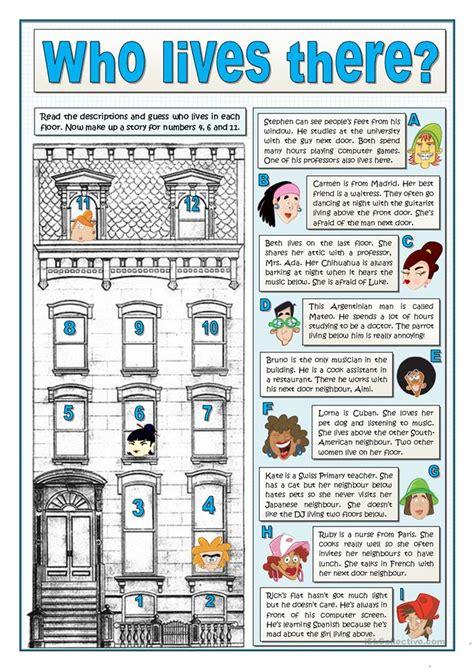 Esl Duties by Free Esl Efl Printable Worksheets And Handouts